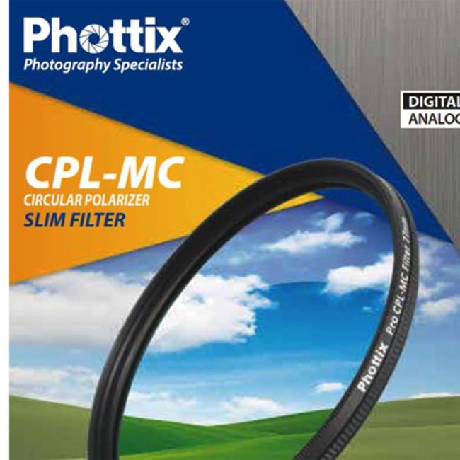 Фильтр Phottix CPL-MC Slim 58мм