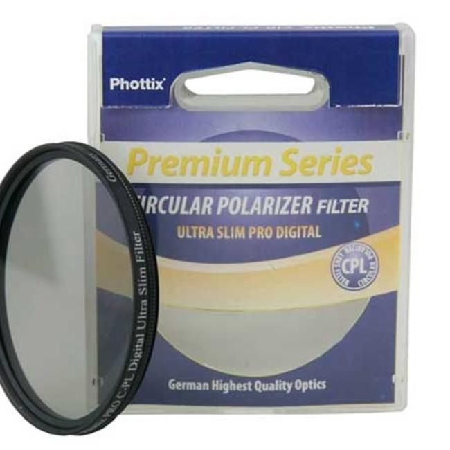 Фильтр Phottix PRO C-PL Digital Ultra Slim 52мм