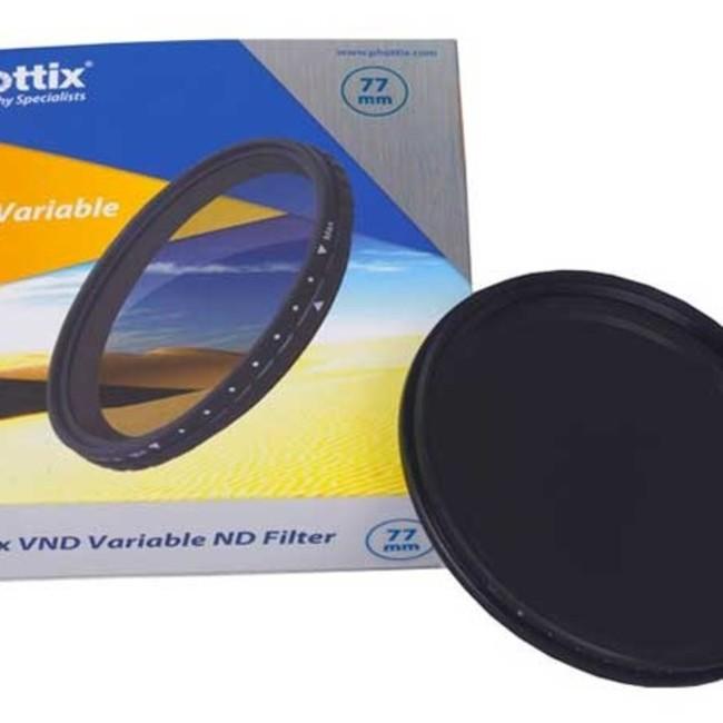 Фильтр Phottix VND Variable Filter 52mm нейтрально серый, регулируемый