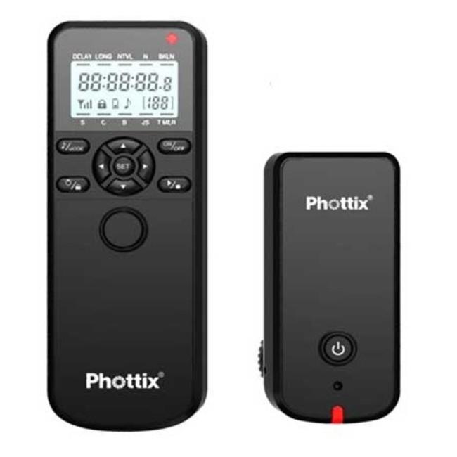 Беспроводной пульт с таймером и со спуском затвора Phottix Aion (все кабели)