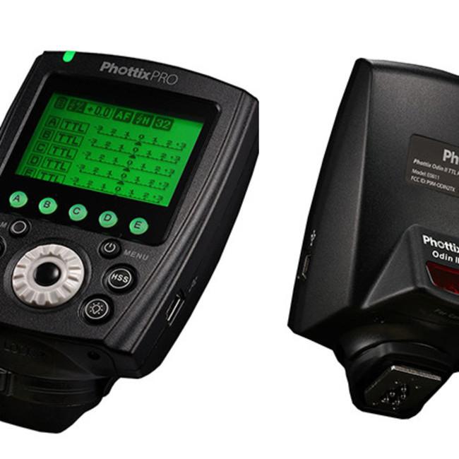 Передатчик Phottix Odin II TTL для срабатывания вспышки Sony