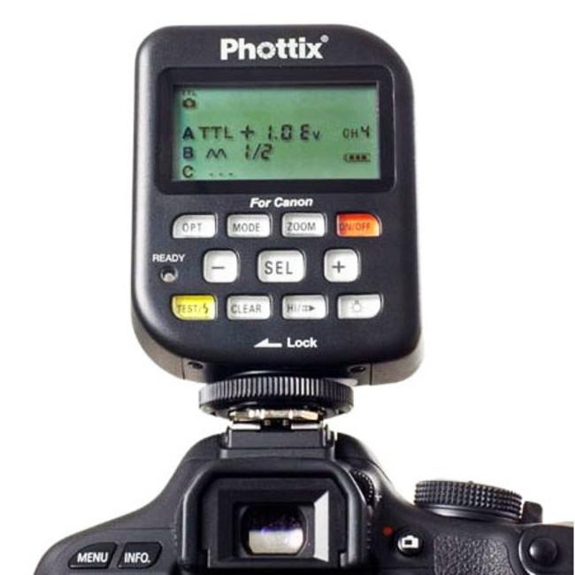 Передатчик Phottix Odin TTL для вспышки Canon, v1.5