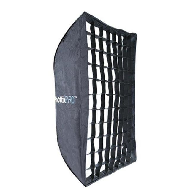 Легко складываемый зонт-софтбокс Phottix HD с решеткой 90х120см