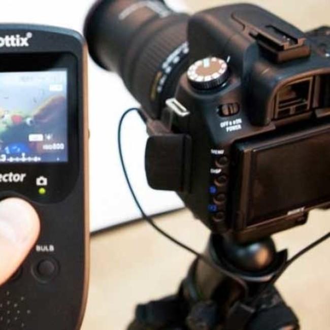 Видоискатель дистанционного управления Phottix Hector Live View с проводным пультом для Nikon