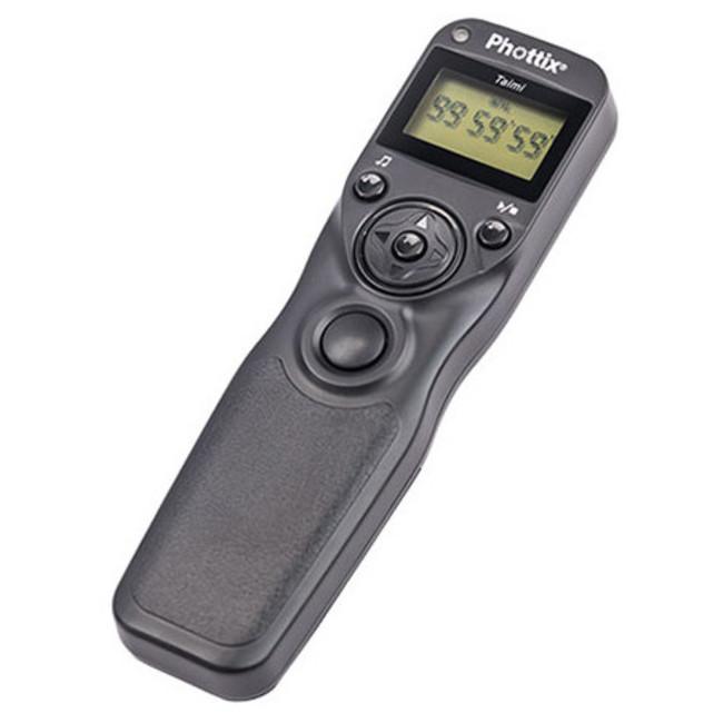 Пульт дистанционного управления Phottix Taimi (Nikon MC-36, Canon TC-80 N3) с таймером с кабелями