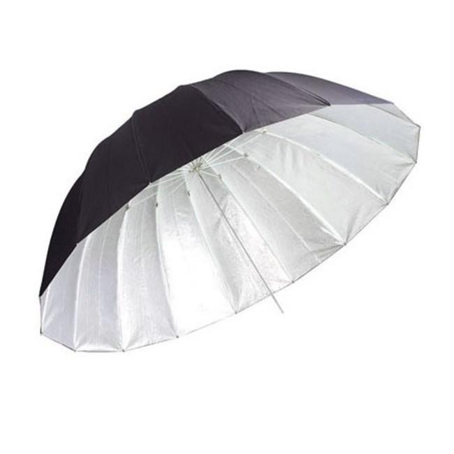 Зонт-отражатель Phottix Para-Pro ESF черно-серебрянный 130 см (50