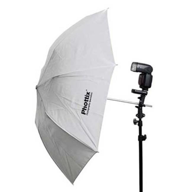 Складывающийся в два раза светопроницаемый зонт отражатель Phottix 36