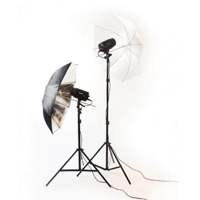 Студийний набор Phottix три вспышки PH-220/ стойка/софтбокс/зонтик