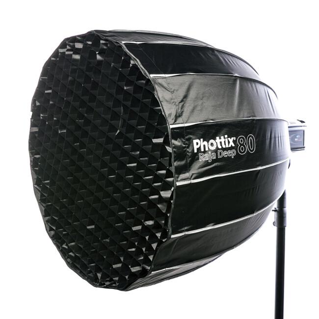 Phottix (82724) Raja Deep 80 быстрораскладной глубокий софтбокс 80 см