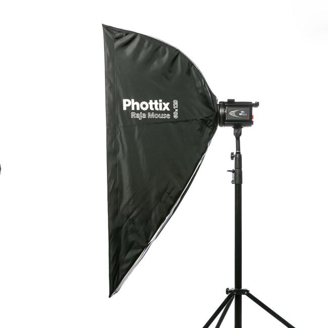 Phottix (82733) Raja Mouse 60х120 быстрораскладной софтбокс 60х120 см ассиметричный