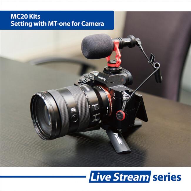 Phottix (99918) MC-20 комплект микрофона с держателем для телефона