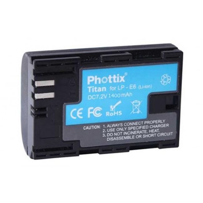 Аккумулятор Phottix LP-E6 для 5D Mark II/5D Mark III / 6D/7D/60D/70D