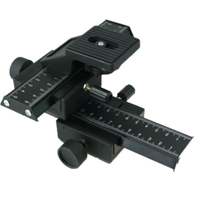 Четырех-сторонние рельсы Phottix для макро-фокусировки SLR камер