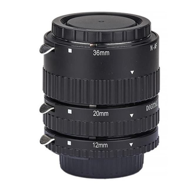 Набор из 3х колец Phottix AF для макросъемки c Nikon (метал.)