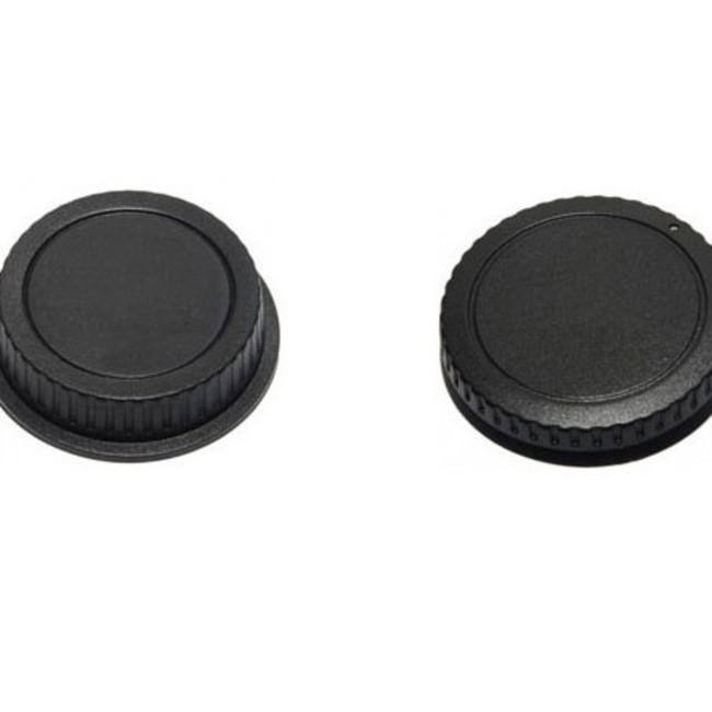 Крышка Phottix для зеркальной камеры и внутренней стороны объектива Nikon