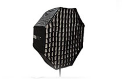 Обзор профессионального легко-складываемого восьмиугольного зонта-софтбокса Phottix PRO HD 80 см.