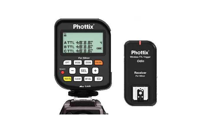 Радиосинхронизатор вспышек Phottix Odin TTL для Nikon