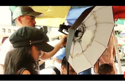 Портретная тарелка Phottix Luna Folding Beauty Dish (70 см, белая)