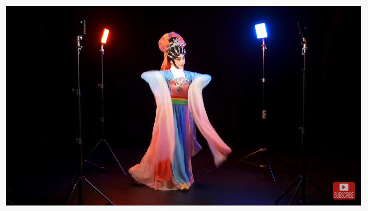 Когда артисты Cantonese Opera встречаются с Phottix M1000R и M500R RGB light